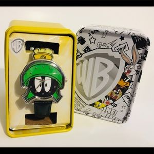 Looney Tunes Marvin the Martian Mens Analog Watch